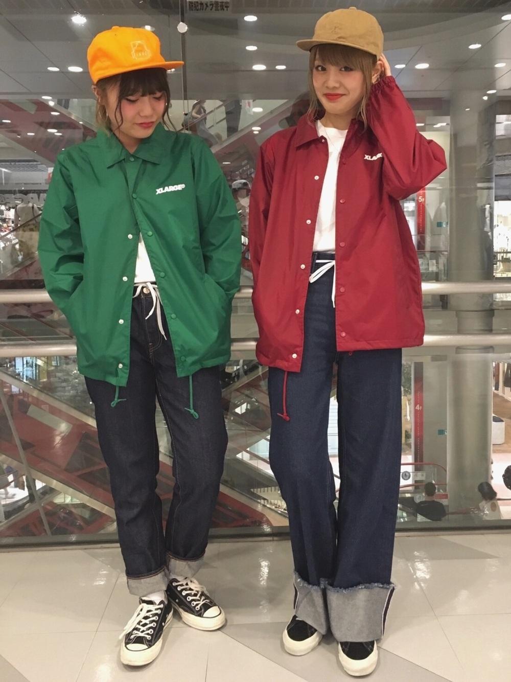赤緑ジャケット