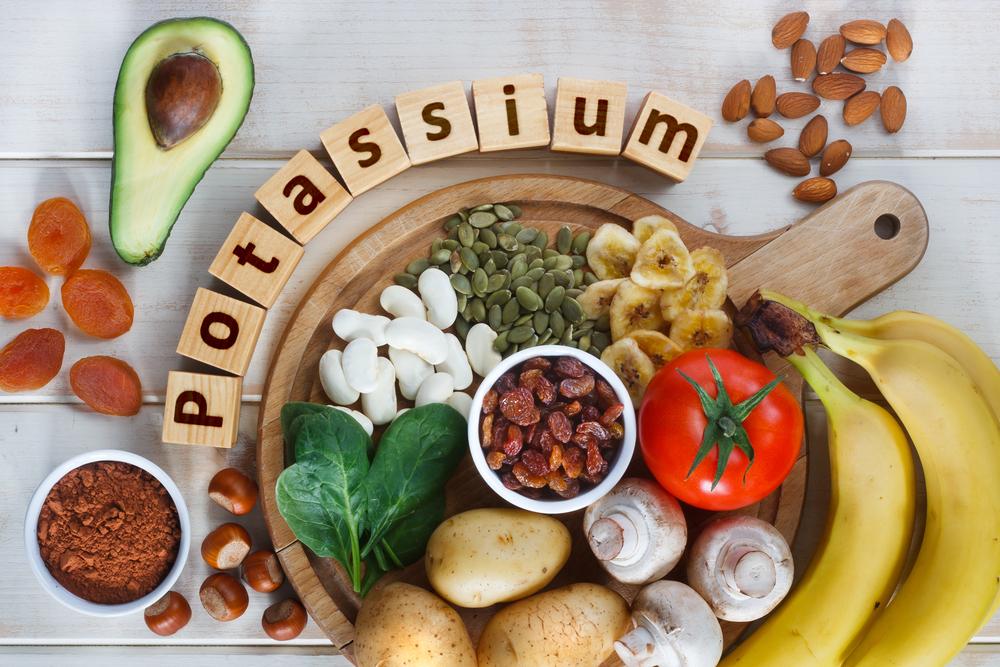 カリウムを含む食品