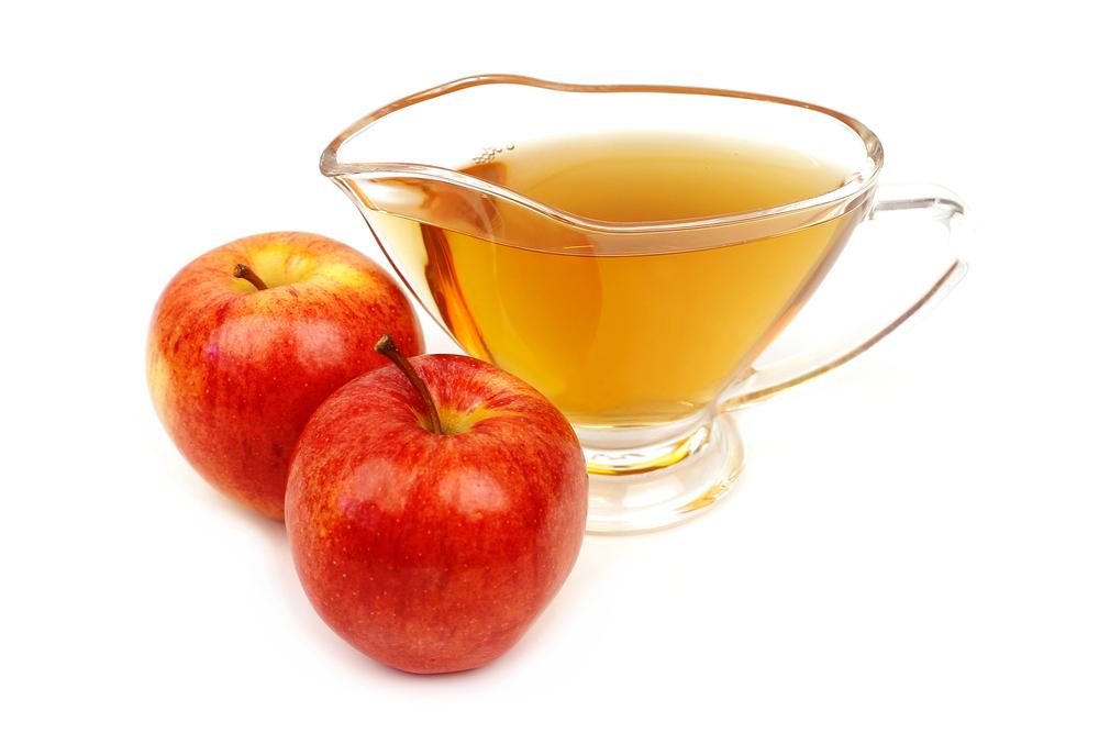 お酢とリンゴ