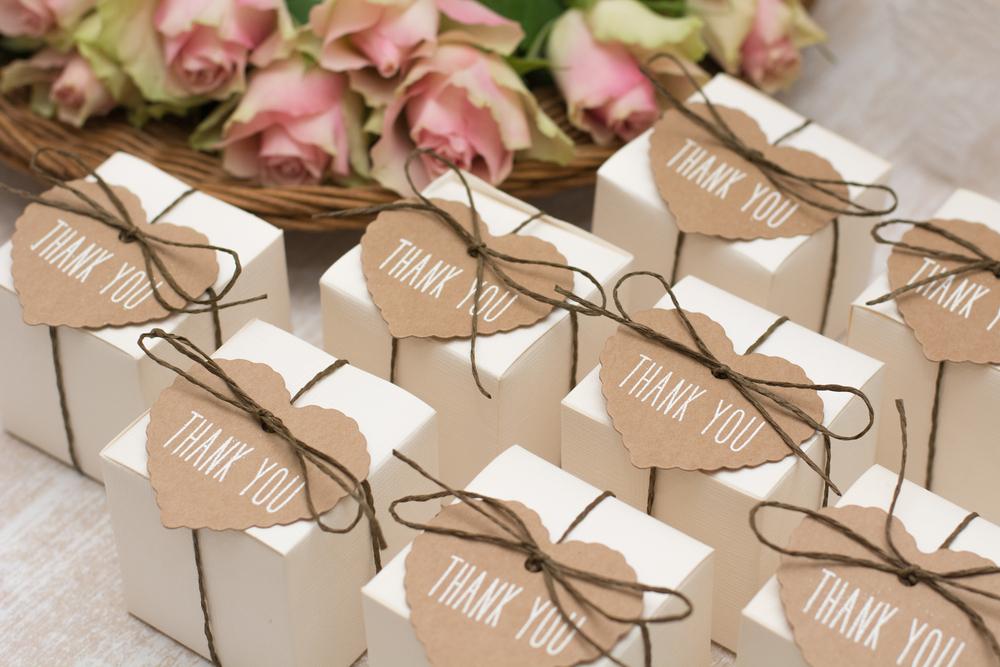 結婚式の引き菓子