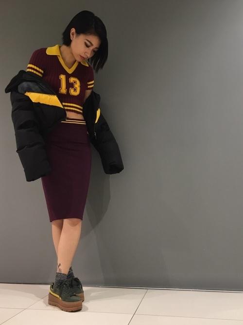 FENTY PUMA by Rihannaのカーキスニーカー