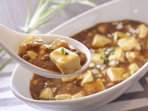 カレーの麻婆豆腐
