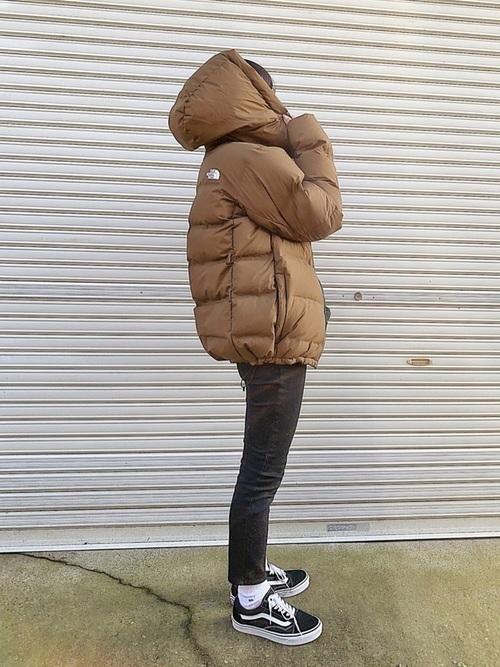 ダウンジャケットを使ったオーストリアの服装