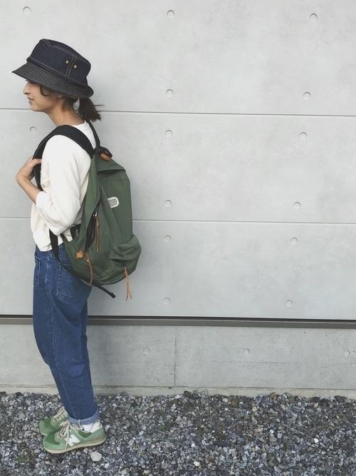夏登山の服装【コーデ例1】