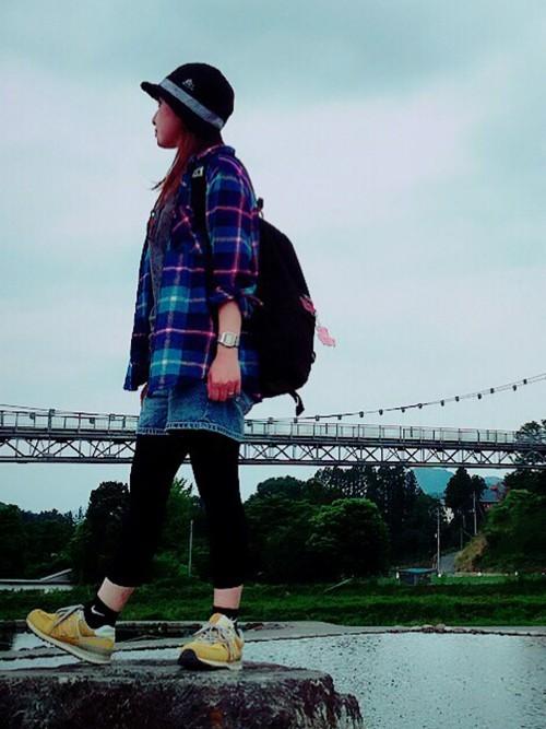 夏登山の服装【コーデ例6】