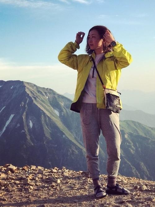 夏登山の服装【コーデ例7】