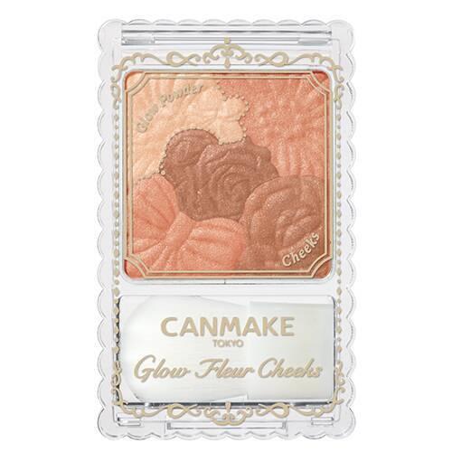 CANMAKE キャンメイク グロウフルールチークス 12 シナモンラテフルール