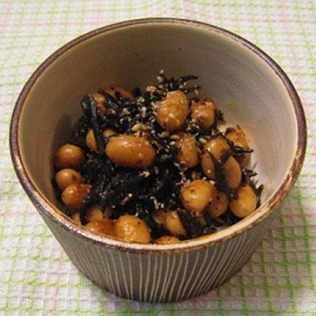 ピリ辛ひじきのレシピ