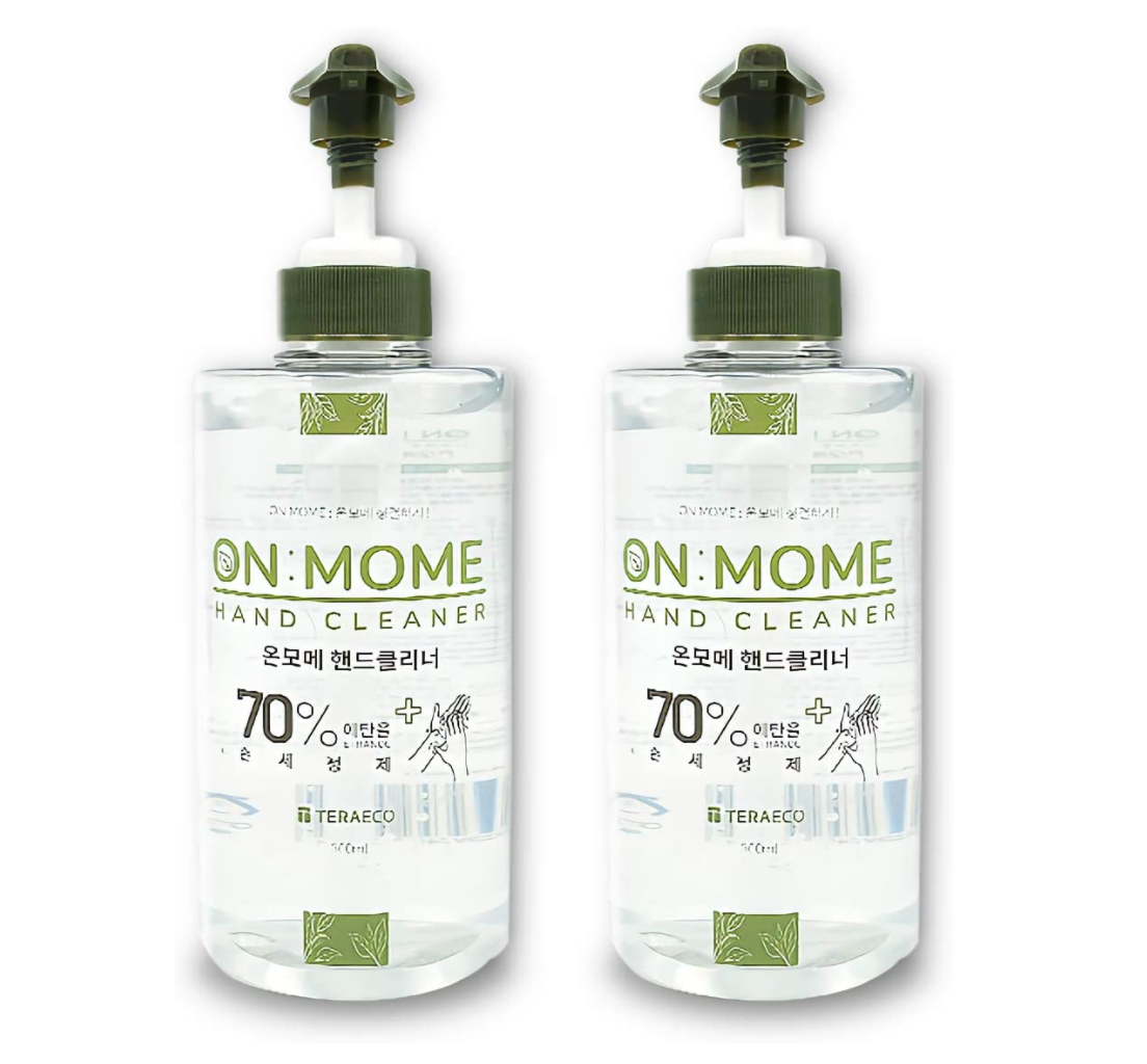 ON MOME(オン・モメ) ハンドジェル アルコール洗浄タイプ 2本セット