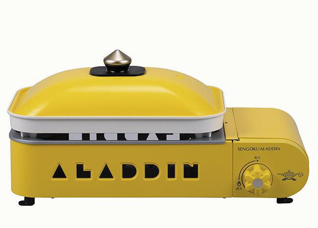 Aladdin(センゴクアラジン) ポータブル ガス ホットプレート プチパン