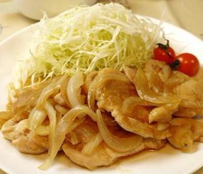 鶏胸肉の柔らか生姜焼きのレシピ