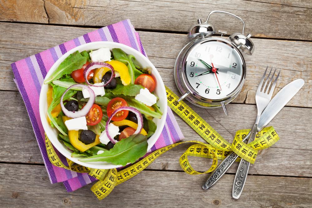 食事の食べ方や時間のコントロール