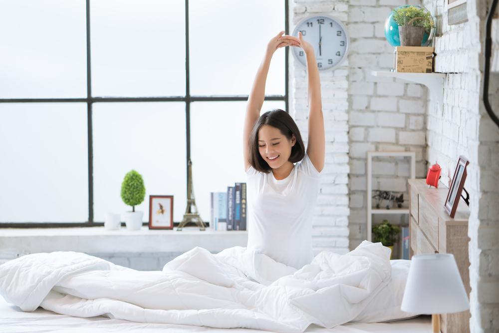 太りやすい40代の女性の睡眠時間確保