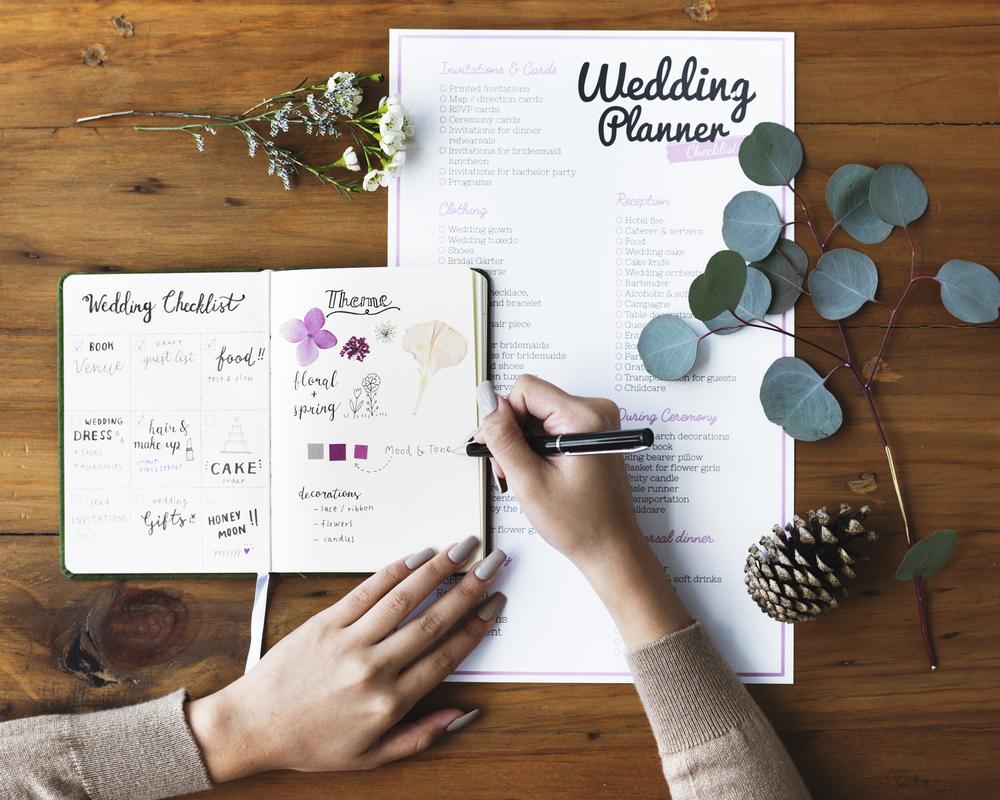 結婚の準備