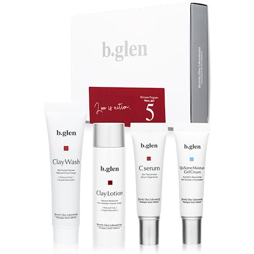 b.glen(ビーグレン) スキンケアプログラム トライアルセット5
