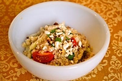 美人になれる!キヌアの地中海風 サラダのレシピ