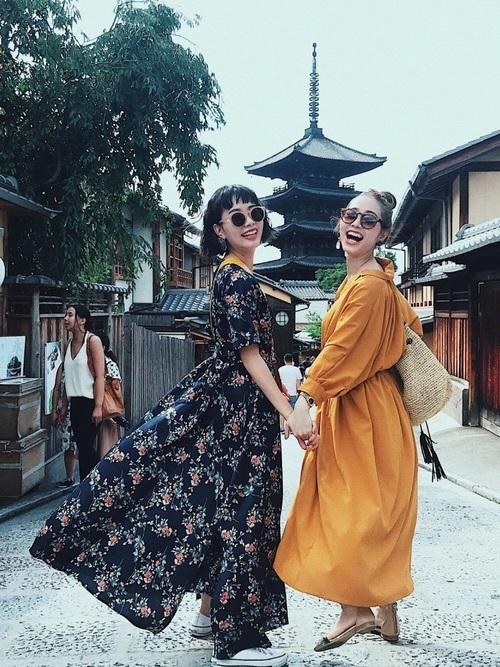 夏の京都におすすめの服装