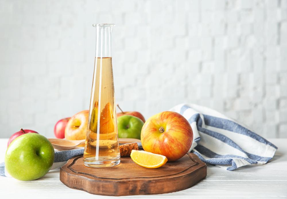 リンゴとお酢