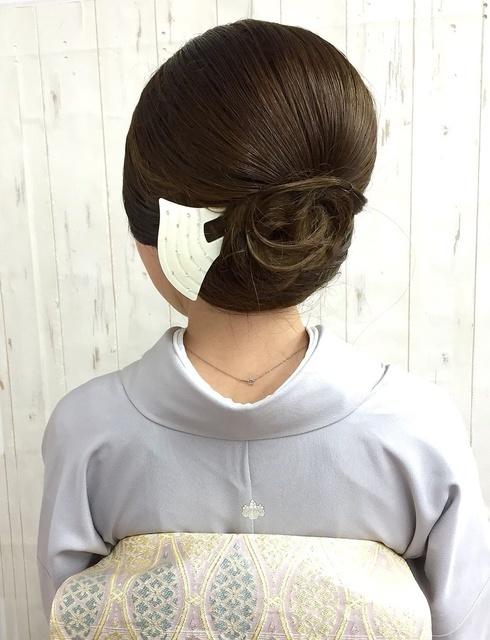 ボブヘアで作れる留袖ヘア