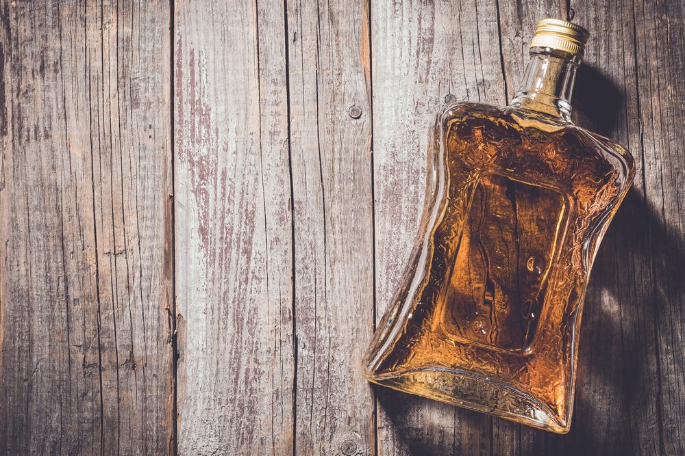 ウイスキーのボトル