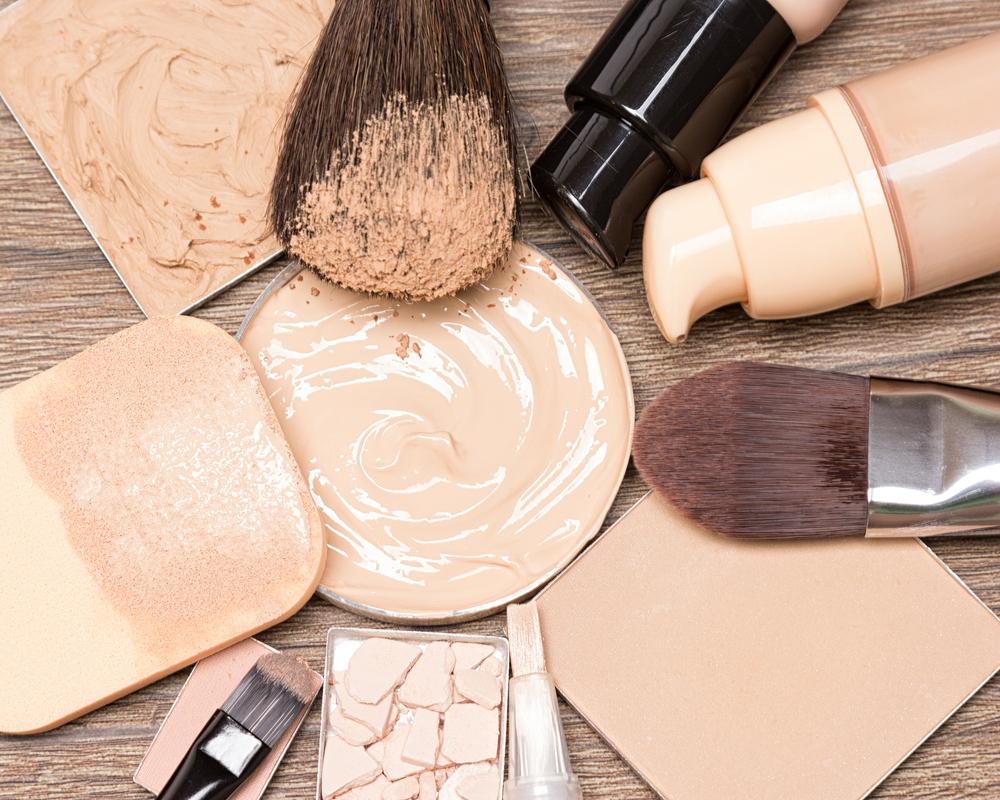 色々な種類の化粧下地