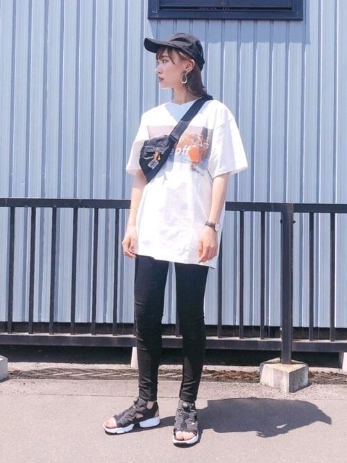 Tシャツを使ったグアテマラの服装