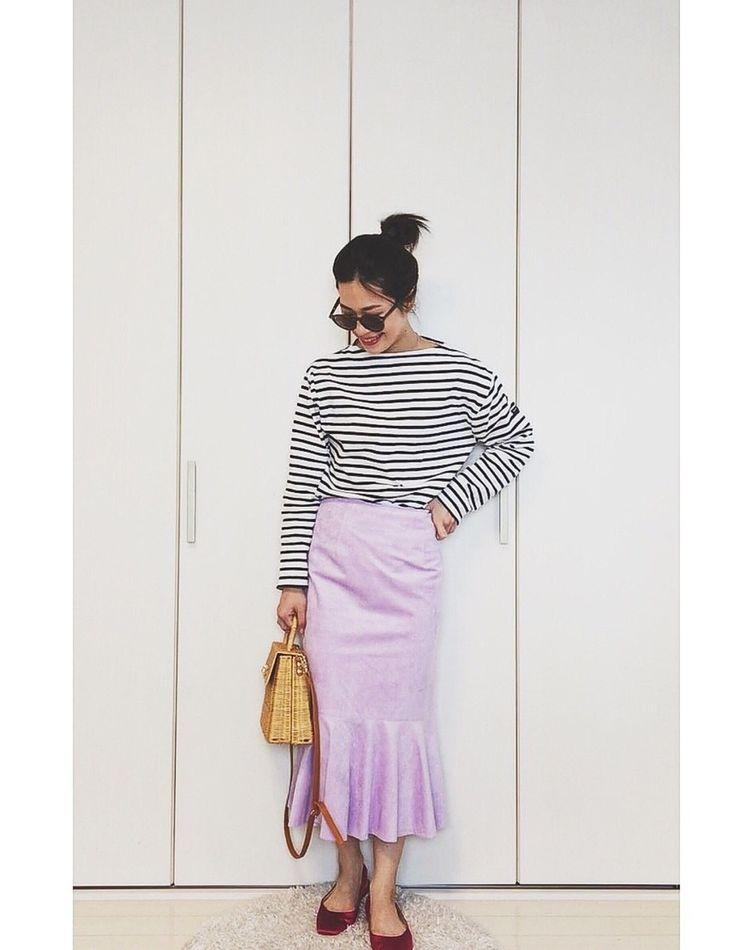 この春履きたいキレイ色スカート♡最新コーデ&アイテム11選