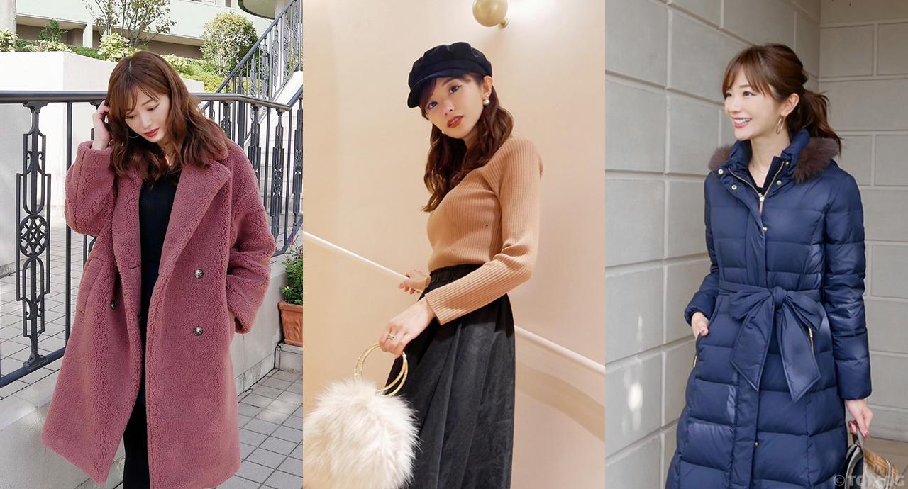 【1週間コーデ】レディな冬アウター&ニットの着こなし術♡