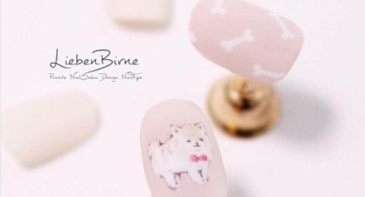 わんちゃん好きにはたまらない犬ネイルデザイン集!癒される指先へ