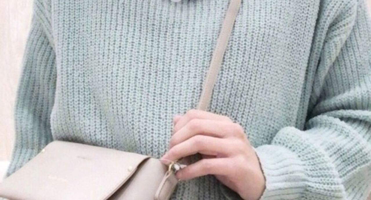 【季節別】ミントカラー×ニットのコーデ。大人っぽく着こなすには?