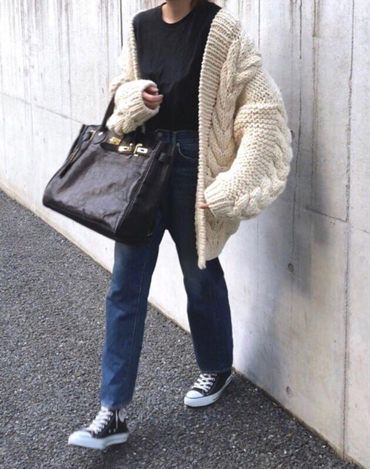 冬の着痩せコーデ術!重ね着しても着膨れしないおすすめコーデ9選