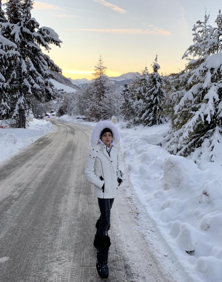 バンブー柚子が母国フランスへ。megèveにある絶景スキーリゾートをご紹介