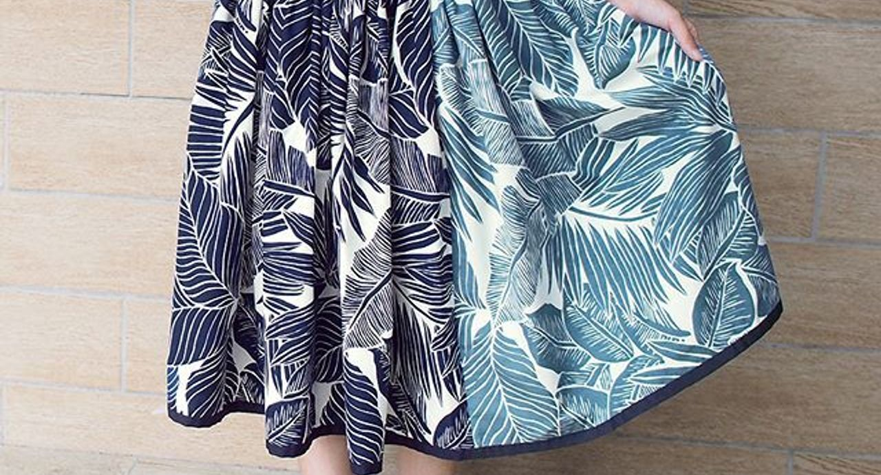 フラダンスの人気スカート。スカートの名前や生地・選び方のポイント