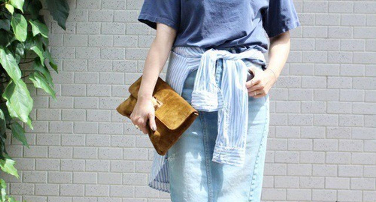 タイトスカートのコーデ集。ミニ丈からロング丈まで