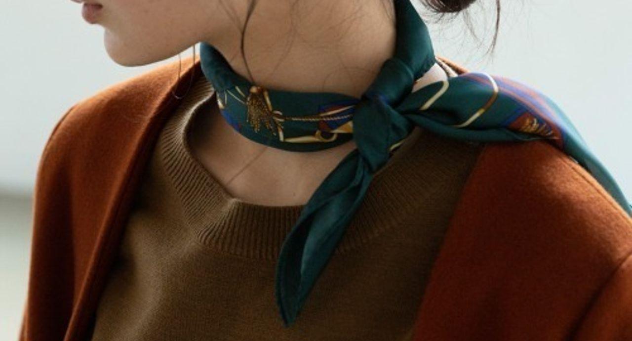 冬におすすめのスカーフコーデ!冬コーデにおすすめの巻き方もご紹介