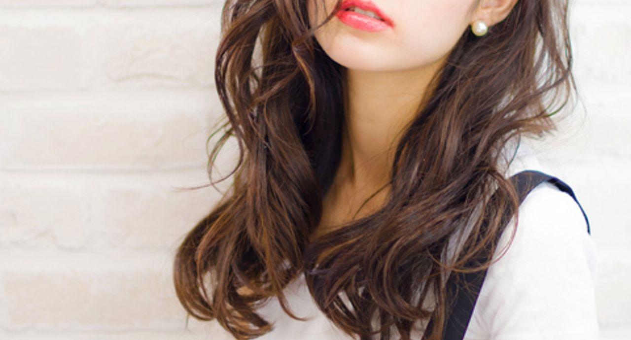 前髪の流し方で印象チェンジ!長さ別で見る簡単なアレンジ
