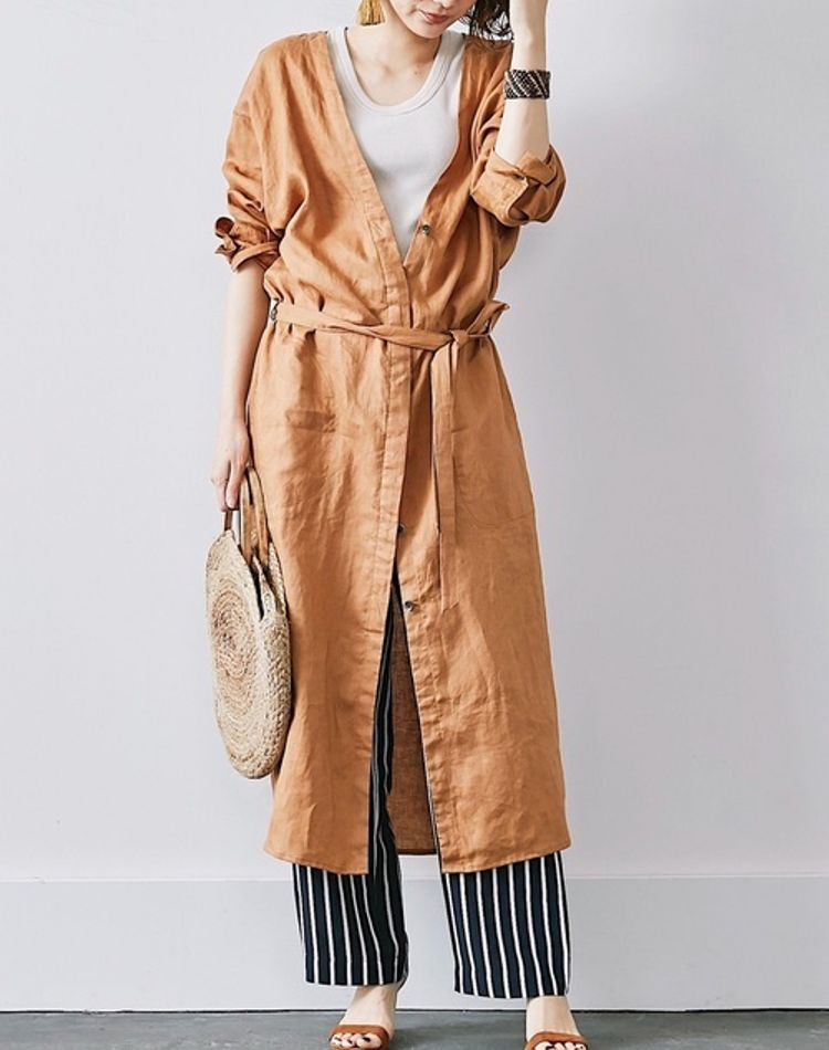 オレンジワンピースの年代・季節別コーデ集!大人女子的着こなしとは
