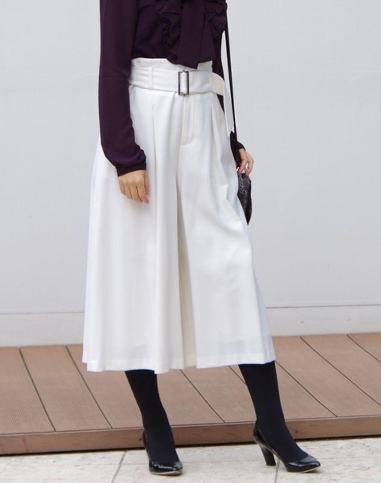 ガウチョパンツで作る冬コーデ!コートの合わせ方や着こなしに注目
