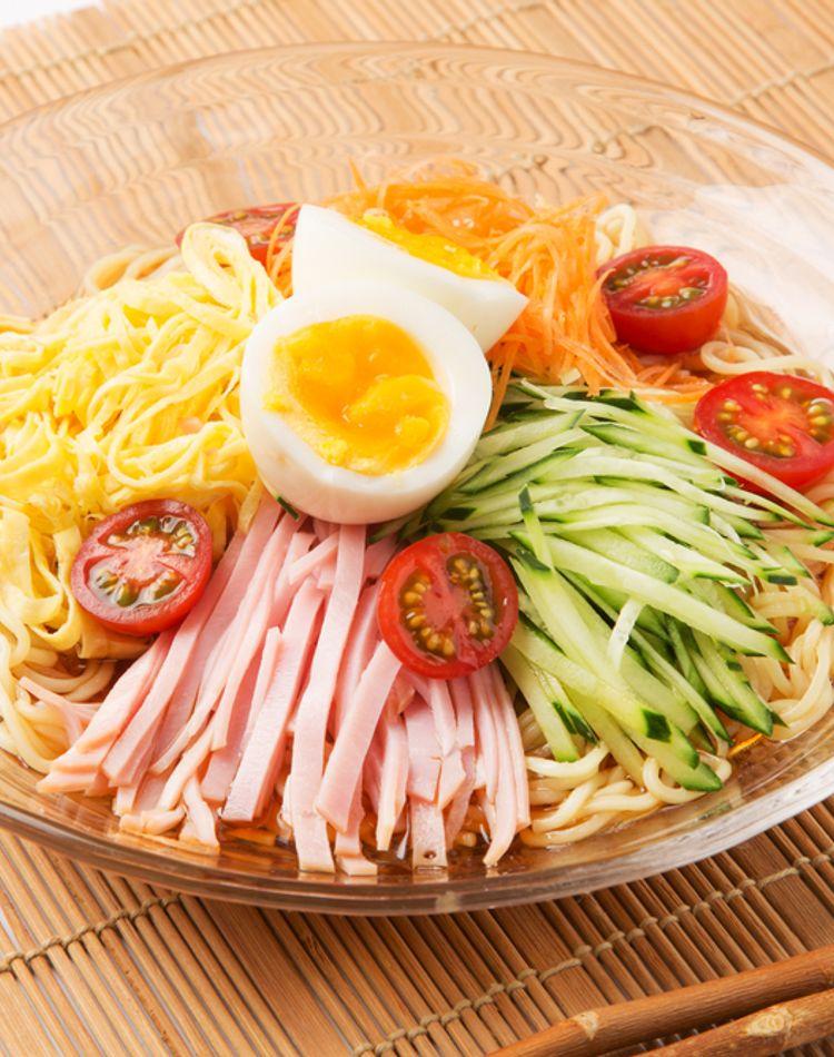 冷やし中華をお弁当に!麺がのびない作り方のコツをご紹介