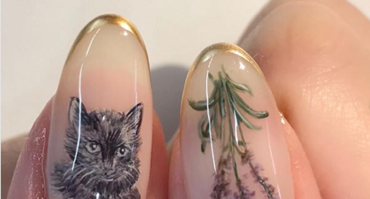 猫ネイルの人気デザインのまとめ!キュートでおしゃれな指先を作る