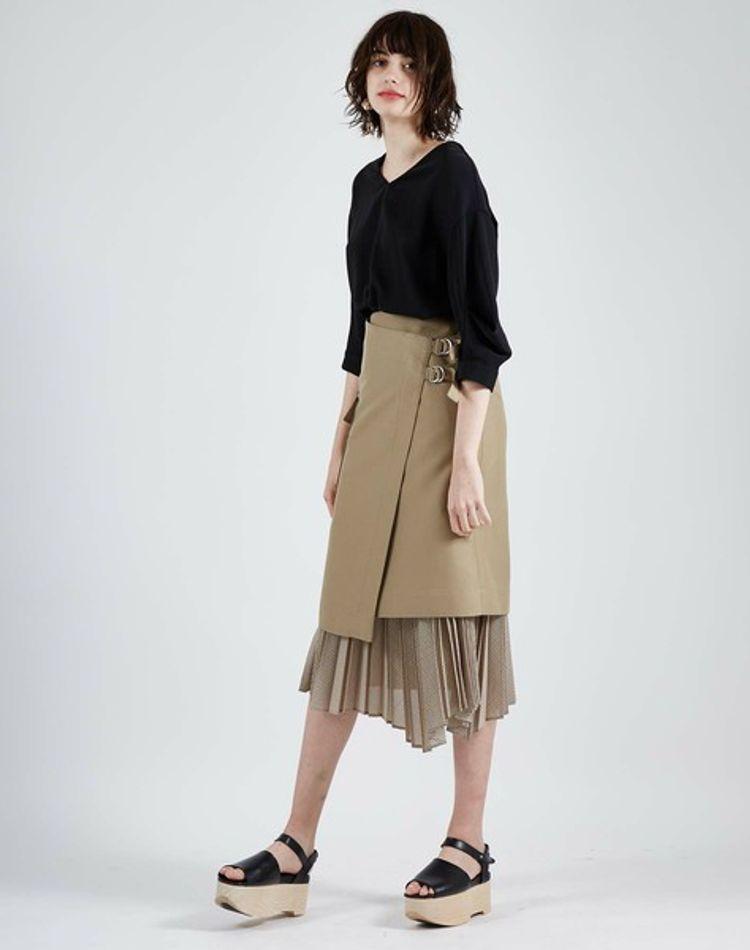 ハイウエストスカートのコーデ術!ミニからロングまでご紹介