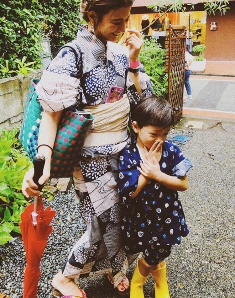 幼稚園の盆踊りに合う服装とは?子供の服装、ママの服装をチェック