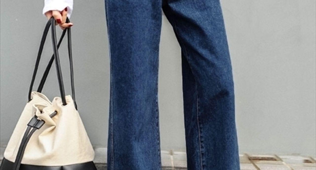 デニムのワイドパンツは幅広い世代で人気!季節別のおすすめコーデ