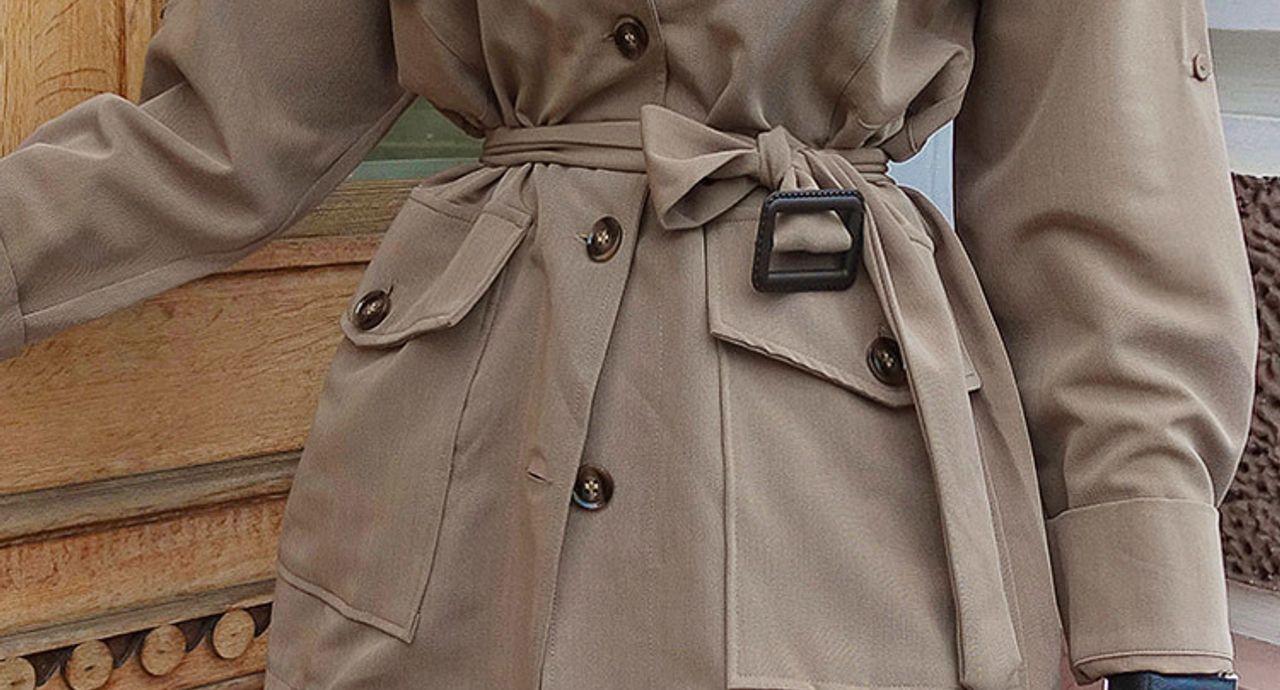 サファリジャケットで理想のレディースコーデに!大人女子の着こなし