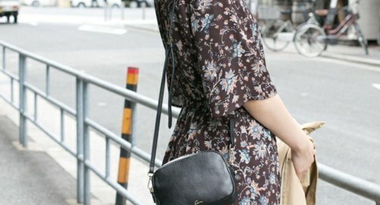 2018年花柄ワンピースのコーデ集。春夏秋冬と季節別にご紹介!