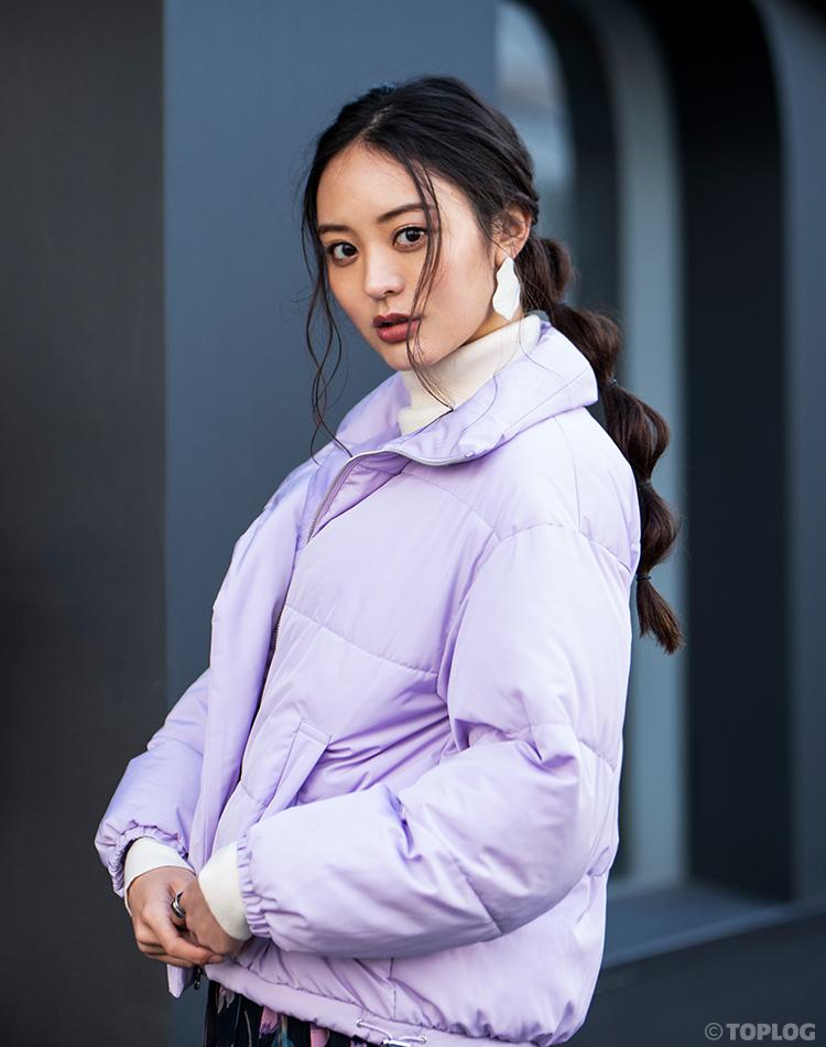 TOPLOGモデルえみりが着る 今買って春まで活躍する2万円以下コート