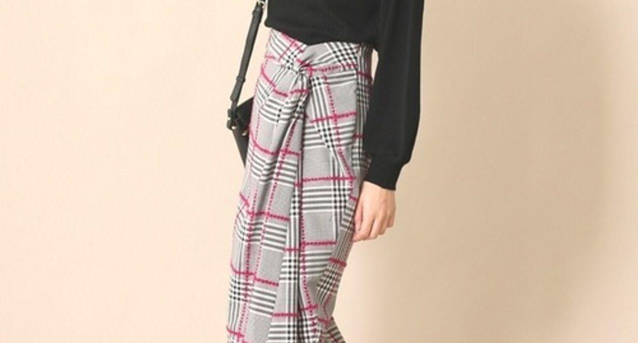 変形スカートでおしゃれ上級者に!大人女子におすすめの着こなし