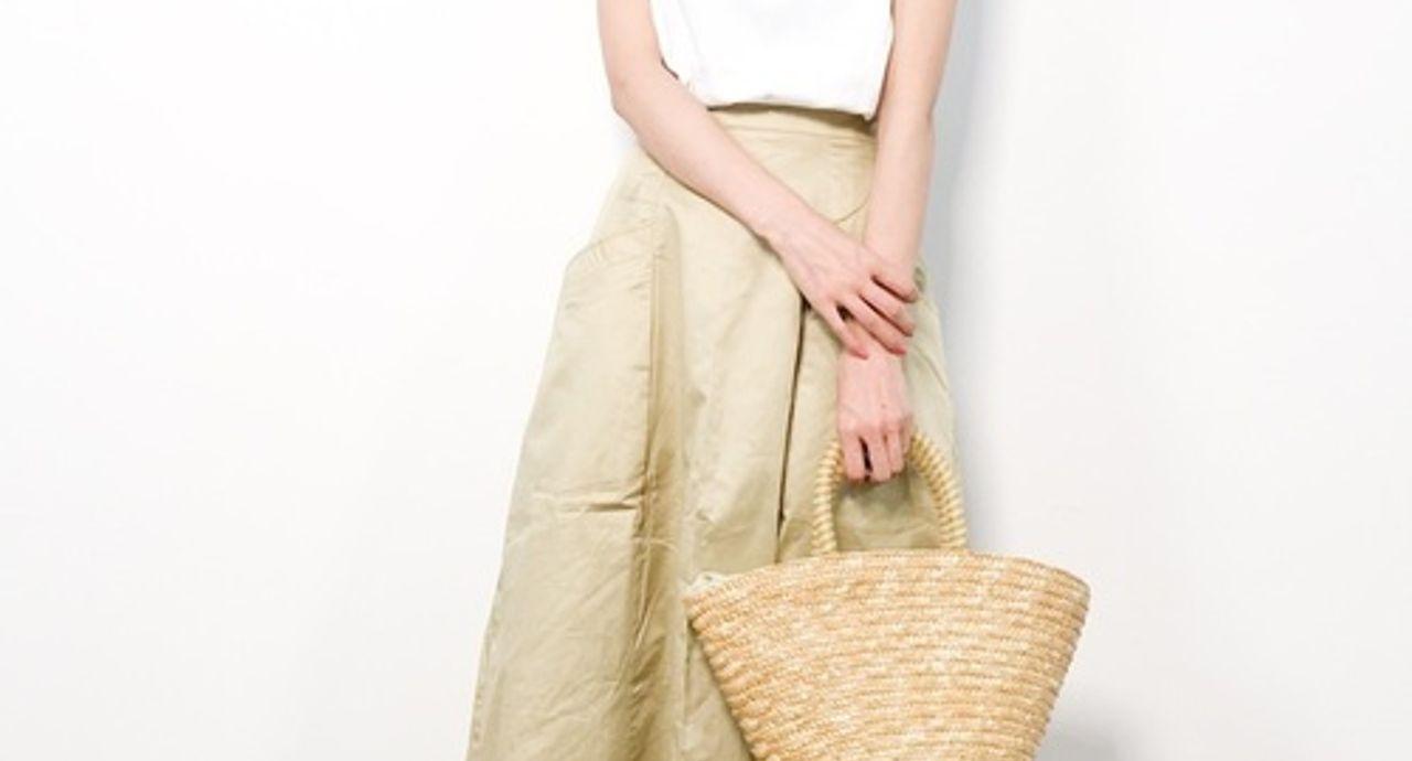 チノスカートで春コーデをおしゃれに!おすすめ大人ファッション9選