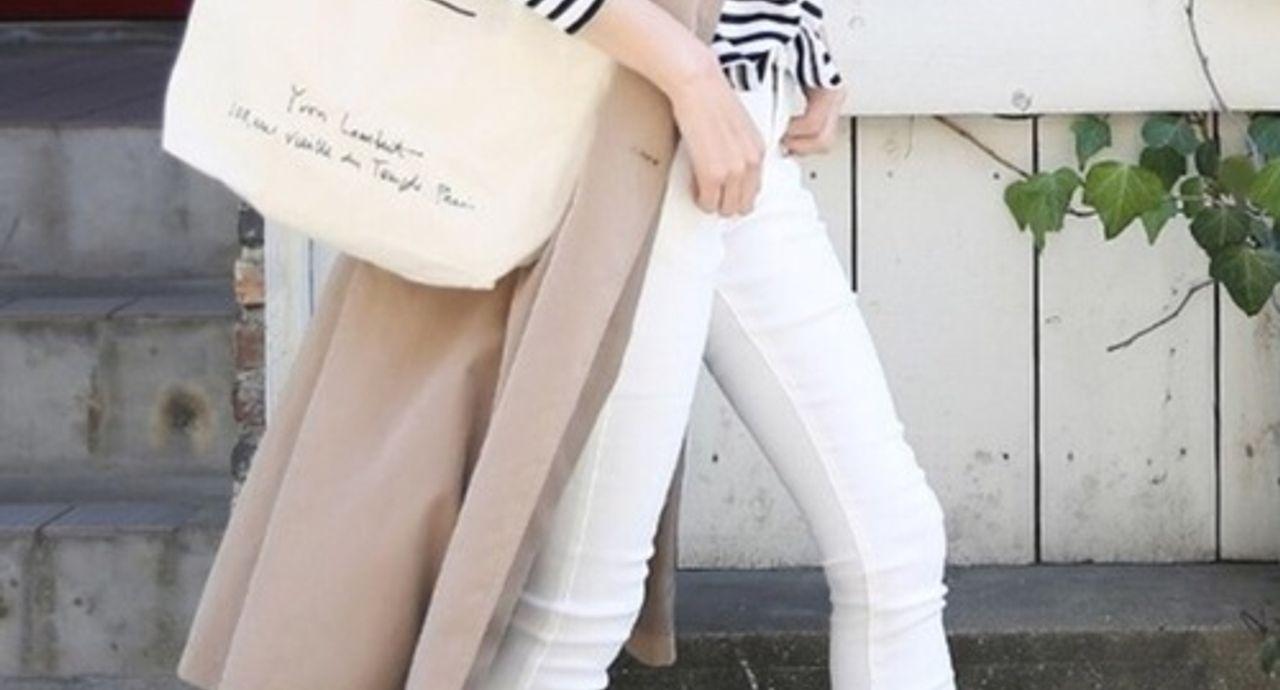春コーデにマストな白スキニーの着こなし!年代別おすすめコーデ9選