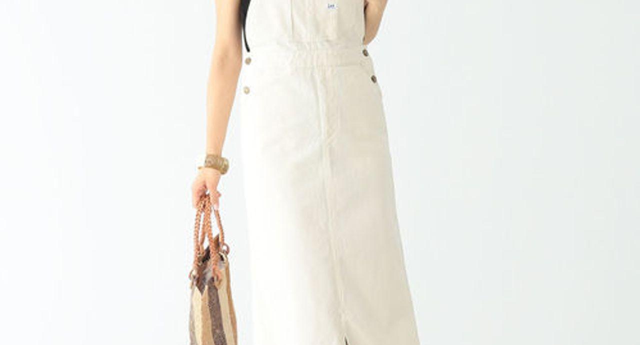 白サロペットスカートの大人コーデ9選!着こなすコツや季節別コーデ